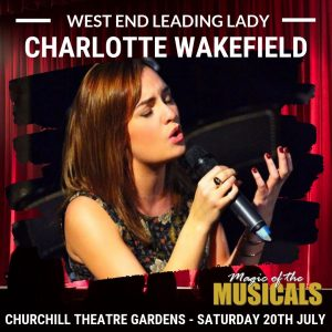 Charlotte Wakefield - Magical of the Muscials, Bromley Summer Concerts 2019